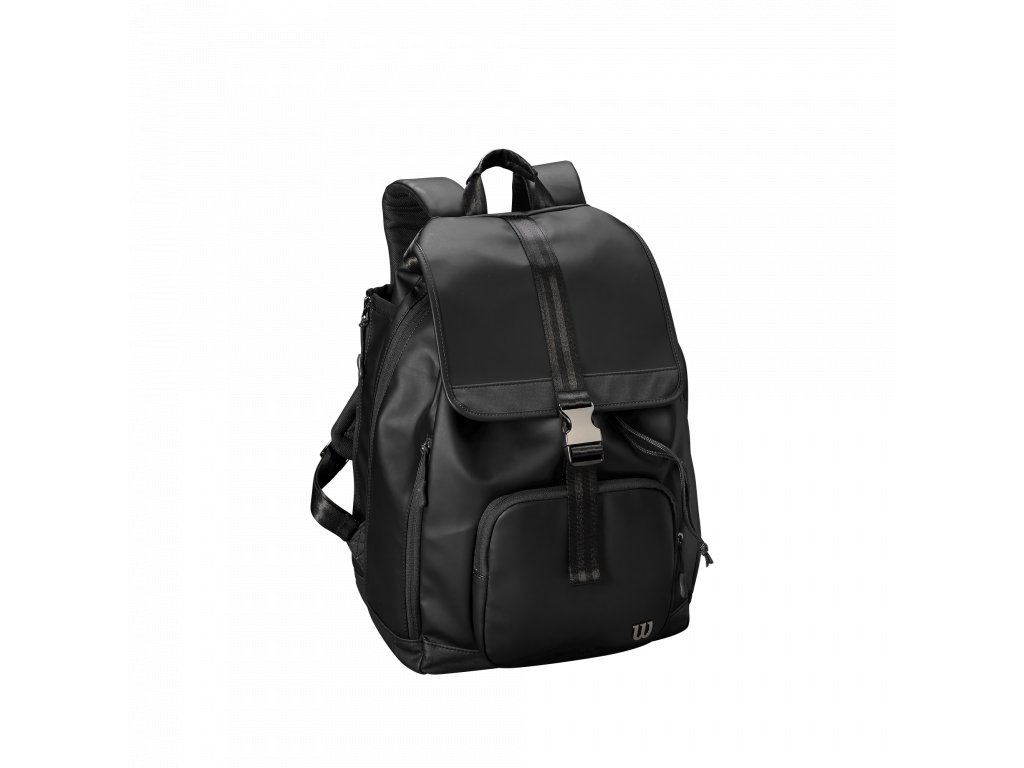WRZ863996 0 Womens Fold Over Backpack Black Front