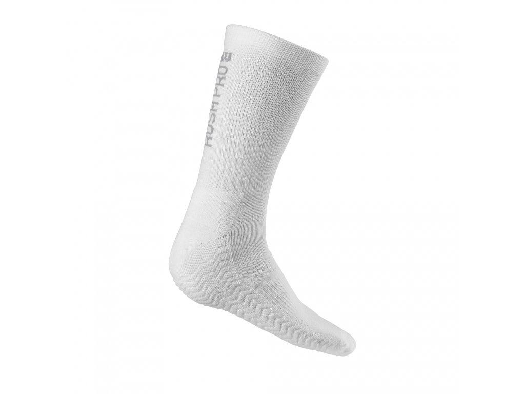 Pánské ponožky Wilson Rush Pro Crew Sock White