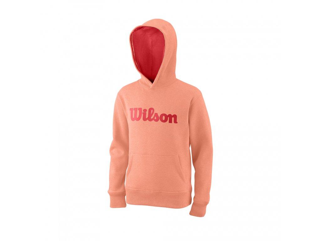 Wilson Y Script Cotton Po Hoody Papay