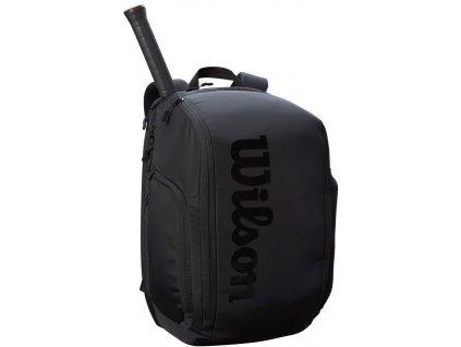 438906 batoh na rakety wilson super tour backpack pro staff black 86133