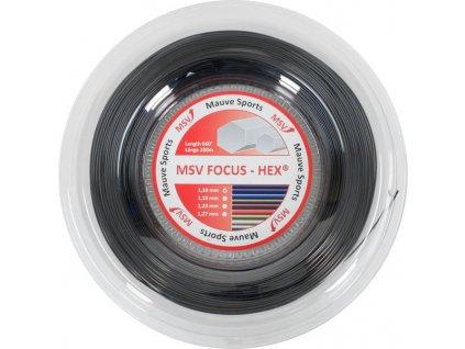 Tenisový výplet MSV Focus HEX - 200m (Barva Modrá, průměr výpletu 1,18)