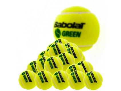 Tenisové míče Babolat Green - 36 ks