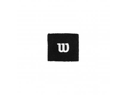 Tenisová potítka Wilson Wristband - černé