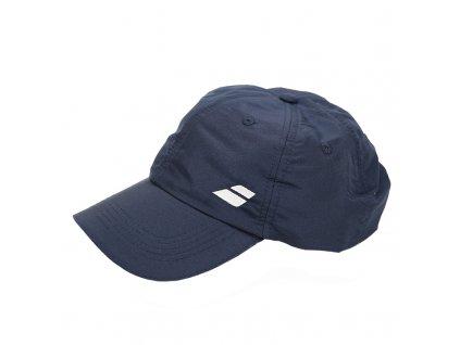 342841 ksiltovka babolat basic logo cap blue 61135