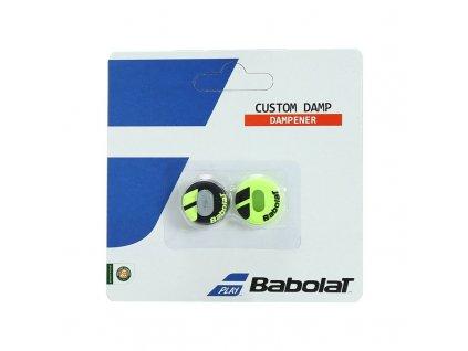 Babolat CUSTOM DAMP 1+1 aero žlutá
