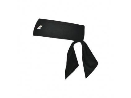 babolat tie headband black