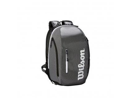 WRZ843996 Super Tour Backpack Grey Black Front