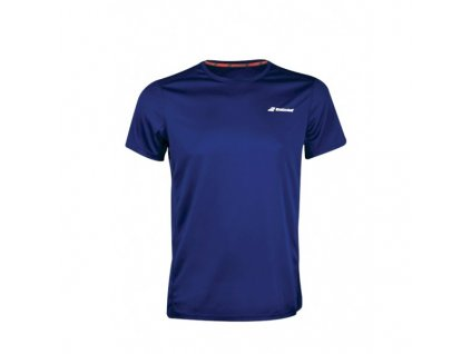 babolat core boy club tee tmave blue