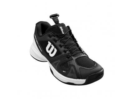 388875 juniorska tenisova obuv wilson rush pro ql black 76936