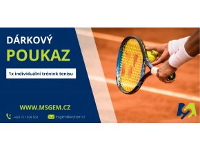 trénink tenisu 1x