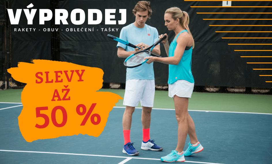 Výprodej tenisového vybavení