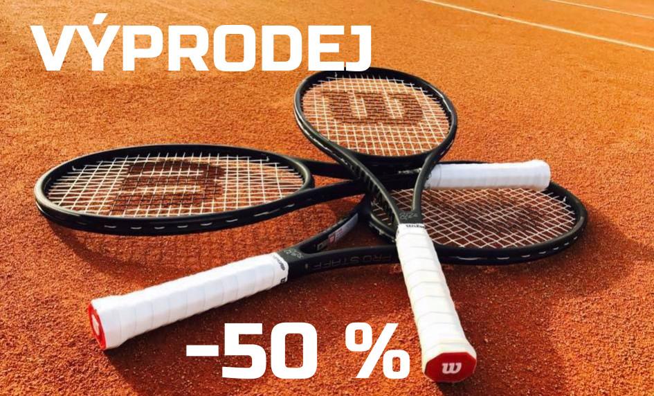 Výprodej raket -50%