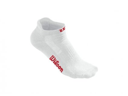 WRA523700 W WHITE NO SHOW SOCK