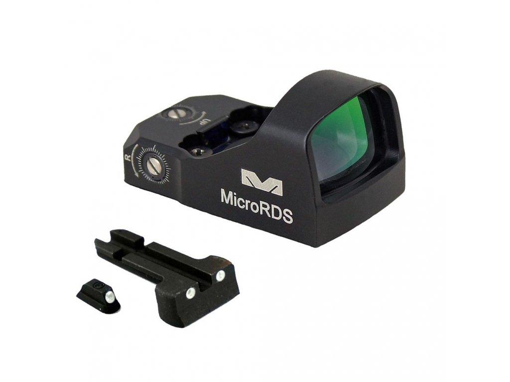 opplanet meprolight micro red dot sight kit h k vp9 black ml88070505