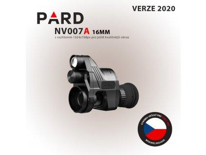 PARD NV007 16mm hotovo