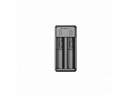 NITECORE UI2 Inteligentní nabíječ s USB zdrojovým kabelem pro 2x Li-Ion,IMR akumulátory