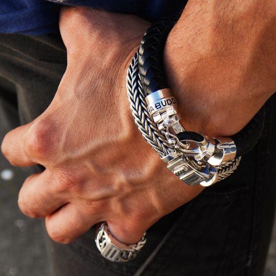 náramky, náramky na ruku, panske naramky,pánske náramky, kozene naramky, naramky chirurgická ocel