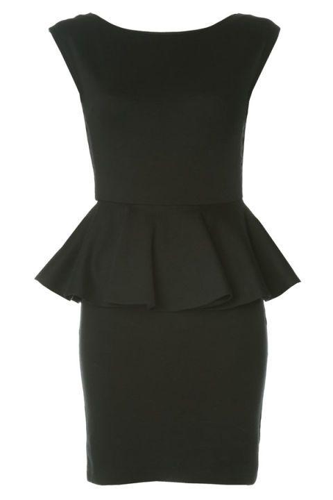 dámske šaty,damske saty,elegantné šaty, puzdrové šaty,kratke saty, čierne šaty, peplum šaty