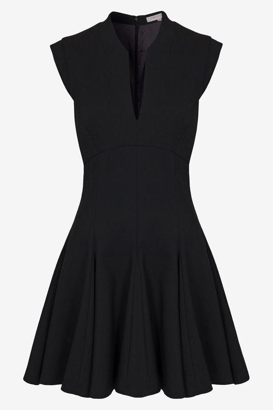 dámske šaty,damske saty,elegantné šaty, áčkové šaty,kratke saty, čierne šaty