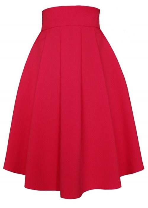 sukňa, sukna, spolocenske sukne, midi sukna, midi sukne, ackova sukna, áčková sukňa, damske sukne,skladana sukna, červená sukňa