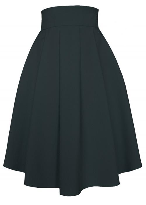 sukňa, sukna, spolocenske sukne, midi sukna, midi sukne, ackova sukna, áčková sukňa, damske sukne,skladana sukna, čierna sukňa