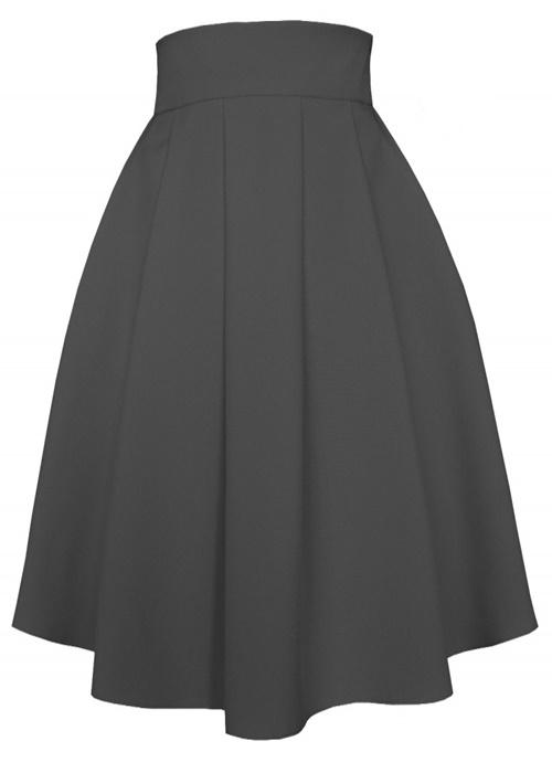 sukňa, sukna, spolocenske sukne, midi sukna, midi sukne, ackova sukna, áčková sukňa, damske sukne,skladana sukna, šedá sukňa