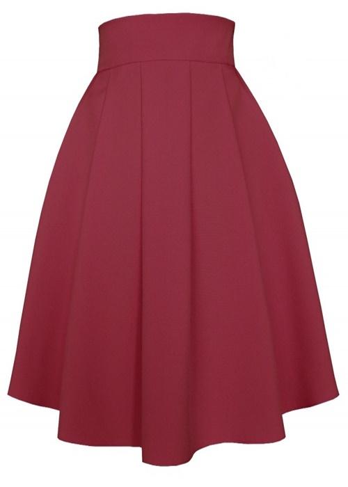 sukňa, sukna, spolocenske sukne, midi sukna, midi sukne, ackova sukna, áčková sukňa, damske sukne,skladana sukna, bordová sukňa