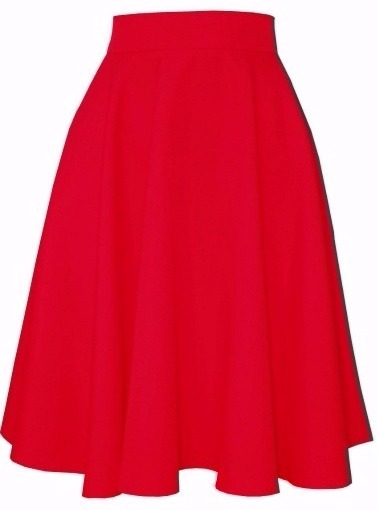 sukňa, sukna, spolocenske sukne, midi sukna, midi sukne, ackova sukna, áčková sukňa, damske sukne, červená sukňa