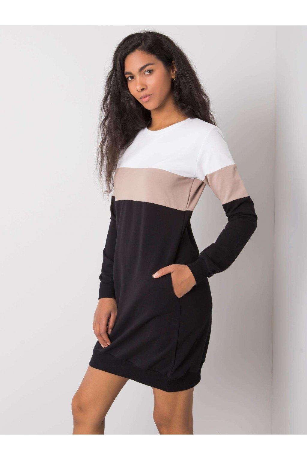 pol pl Bialo czarna sukienka Feliciana RUE PARIS 364939 1