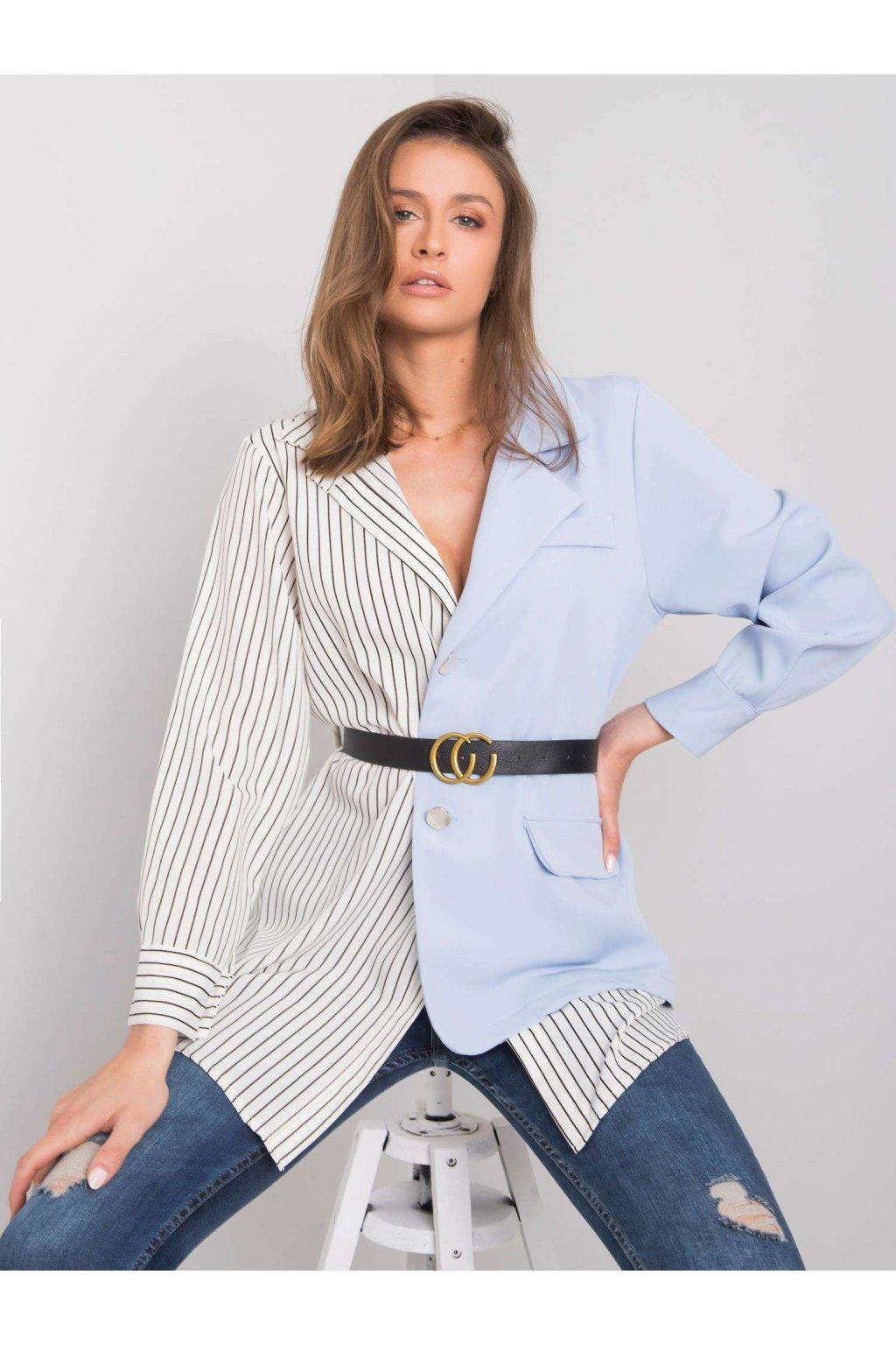pol pl Bialo niebieska koszula Hana 364069 1