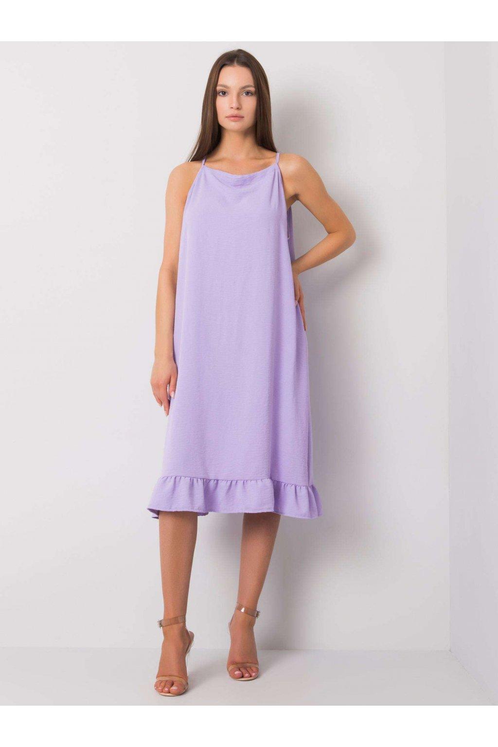 pol pl Jasnofioletowa sukienka na ramiaczkach Simone 367639 1