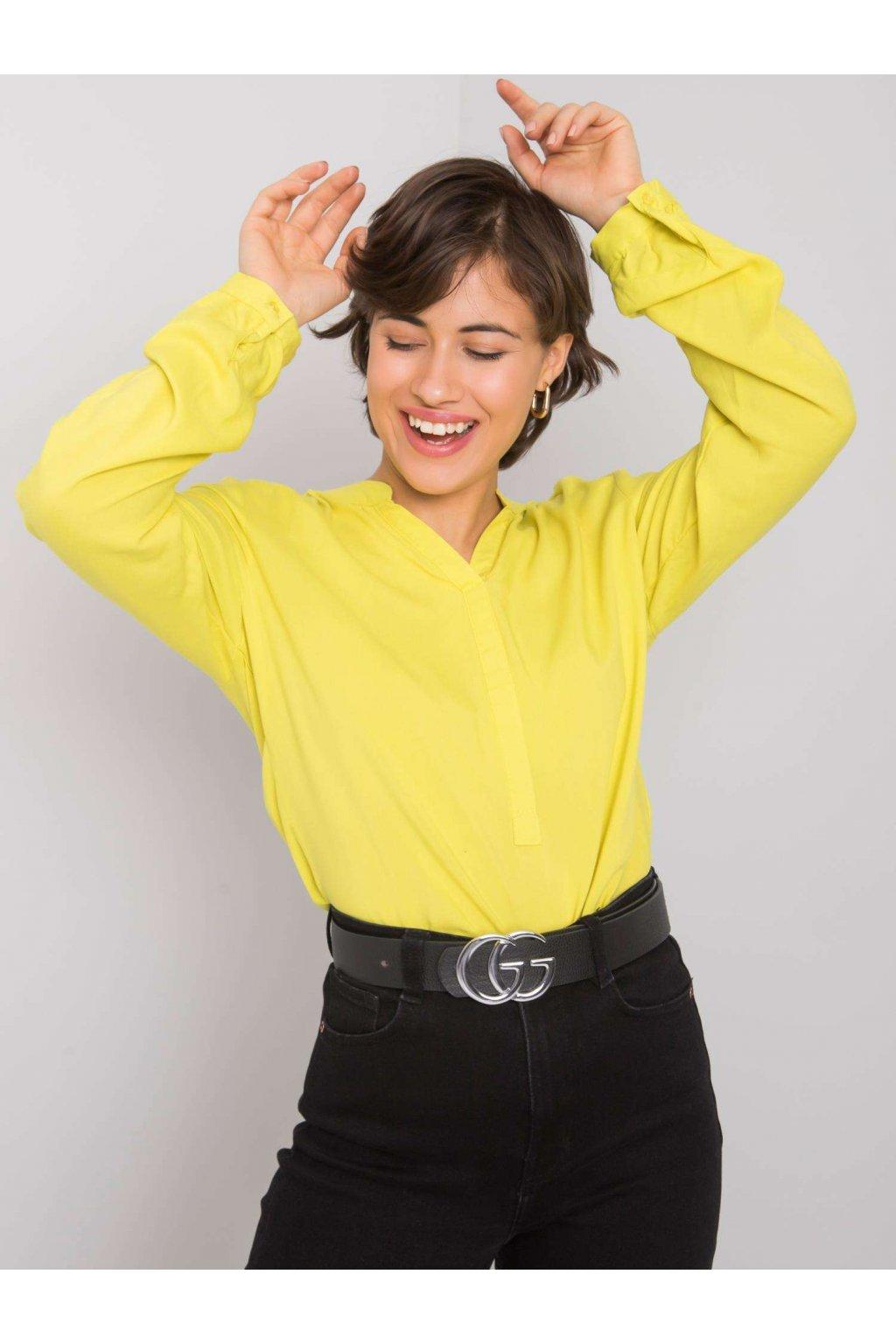 pol pl Limonkowa bluzka Davina RUE PARIS 364293 1