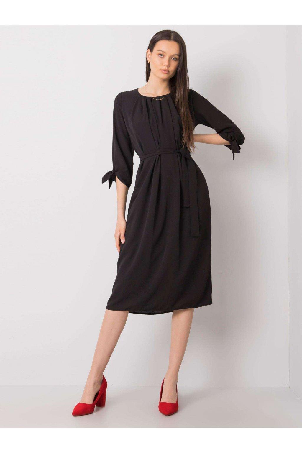 pol pl Czarna sukienka koktajlowa Alethea 366800 1