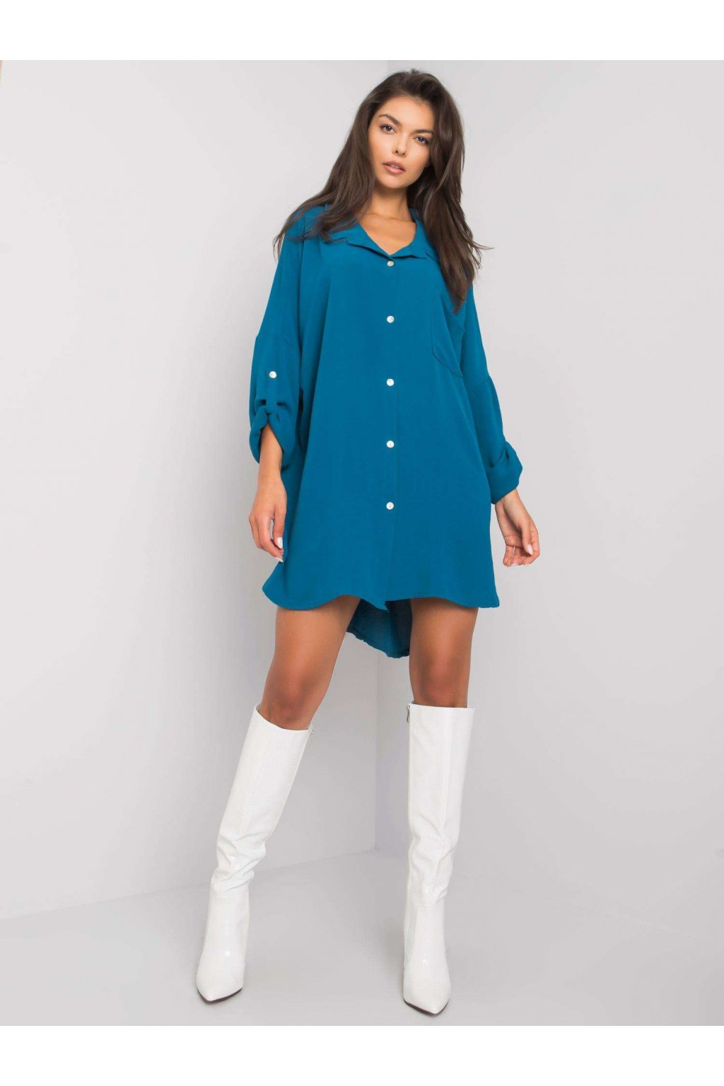 pol pl Morska sukienka oversize Elaria 374686 2