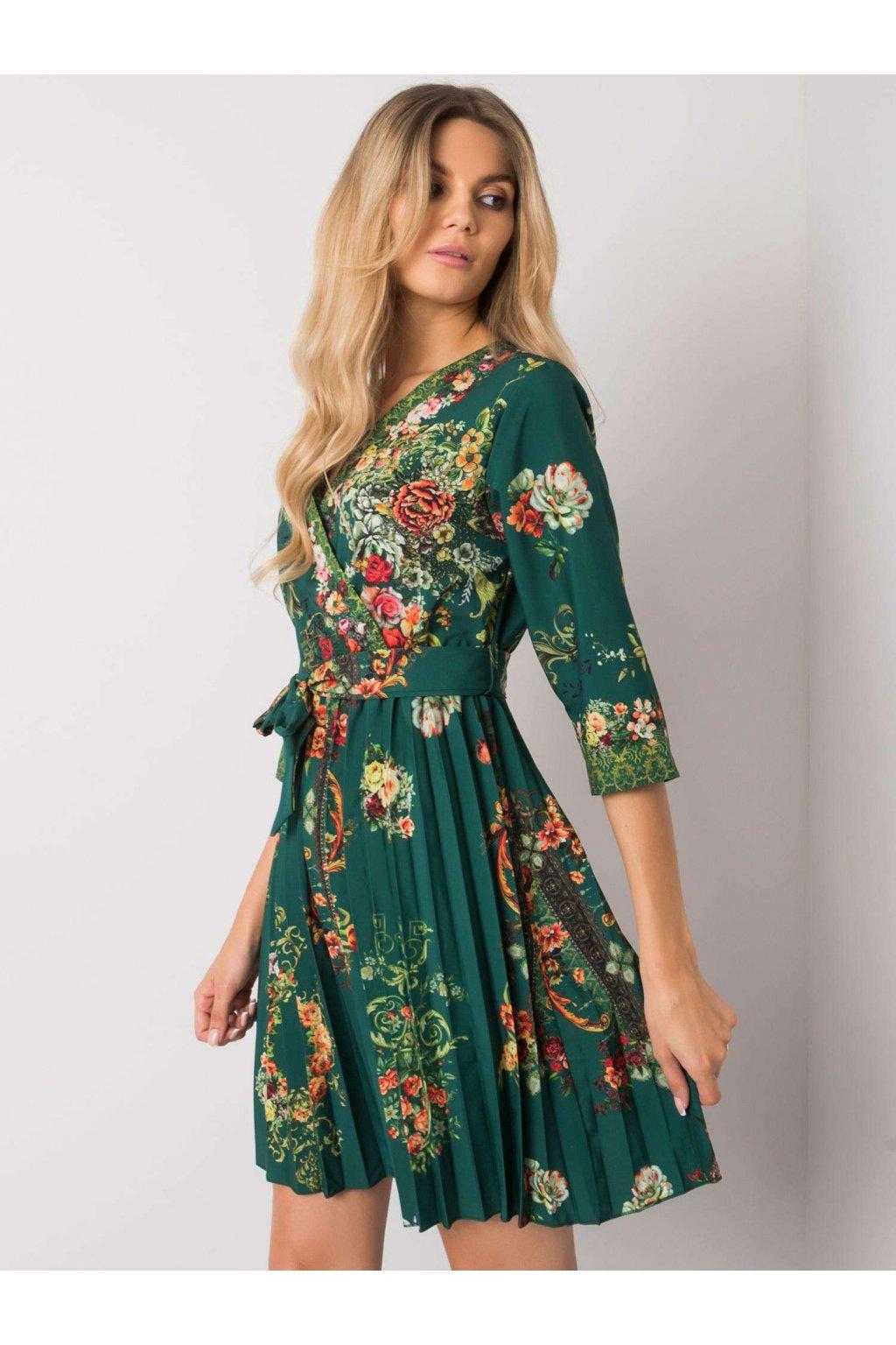 pol pl Zielona sukienka plisowana Xana 374916 1