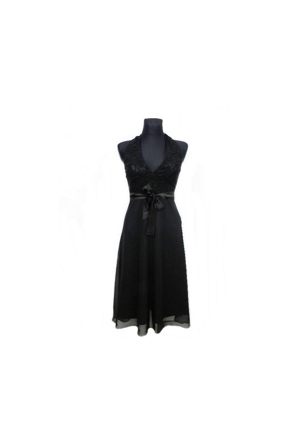 Elegantné šaty okolo krku