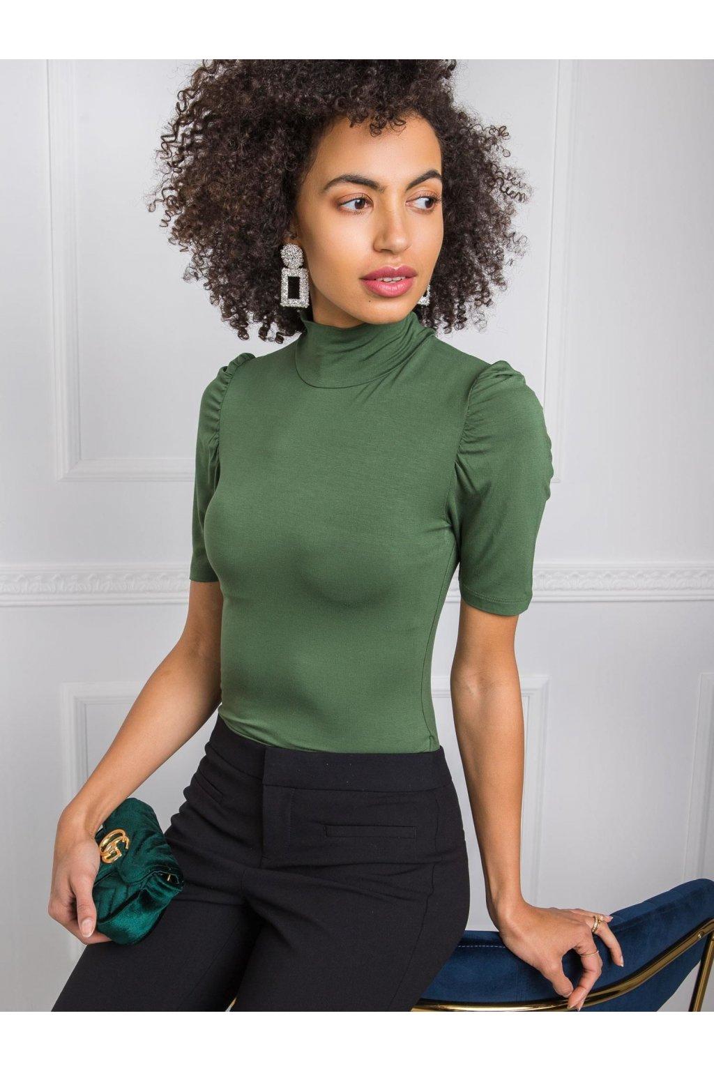 pol pl Zielona bluzka Nadine RUE PARIS 343021 2