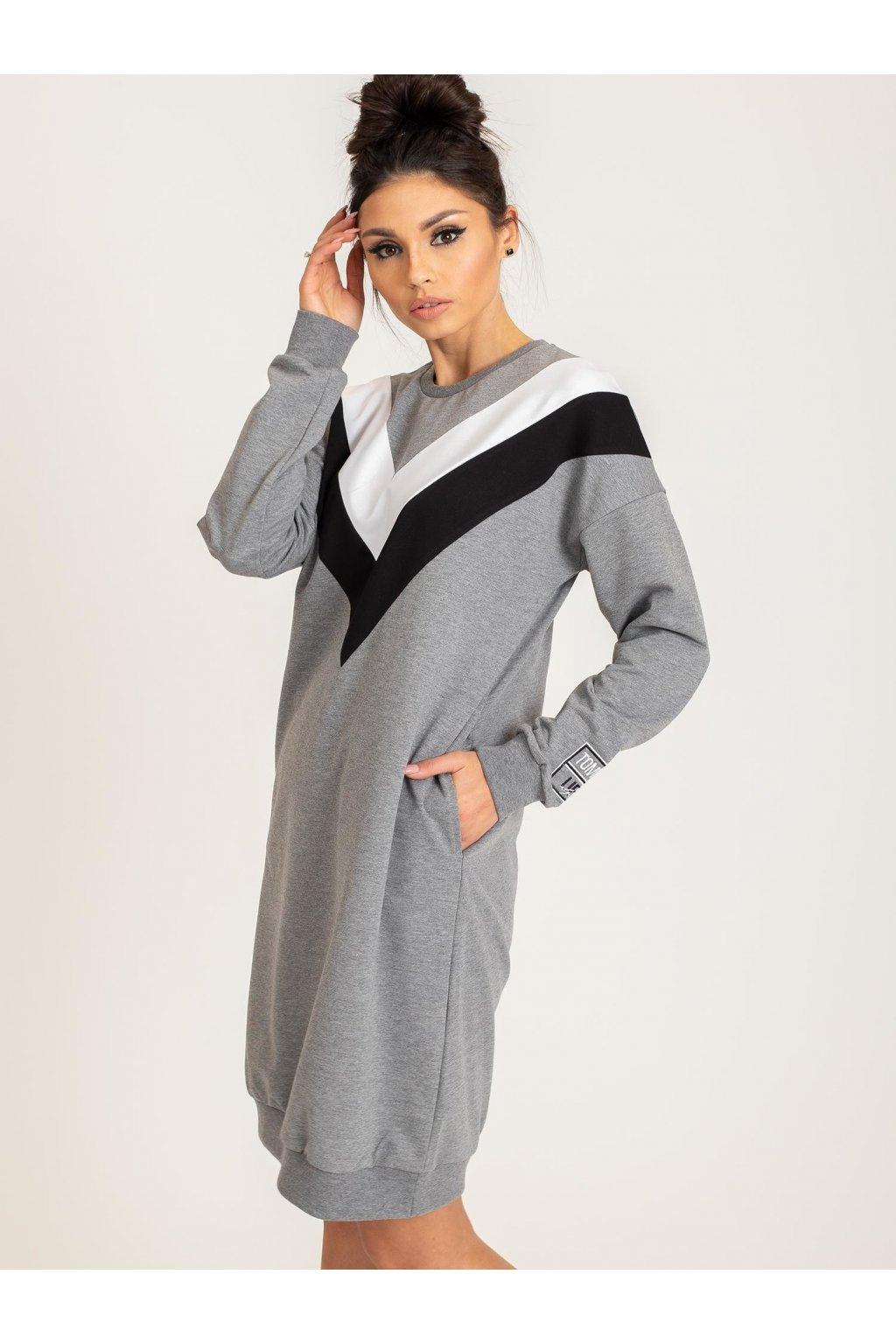 pol pl Czarny sweter Poncho 339213 1