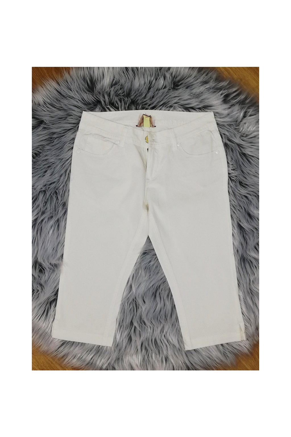 Dámske riflové kapri nohavice