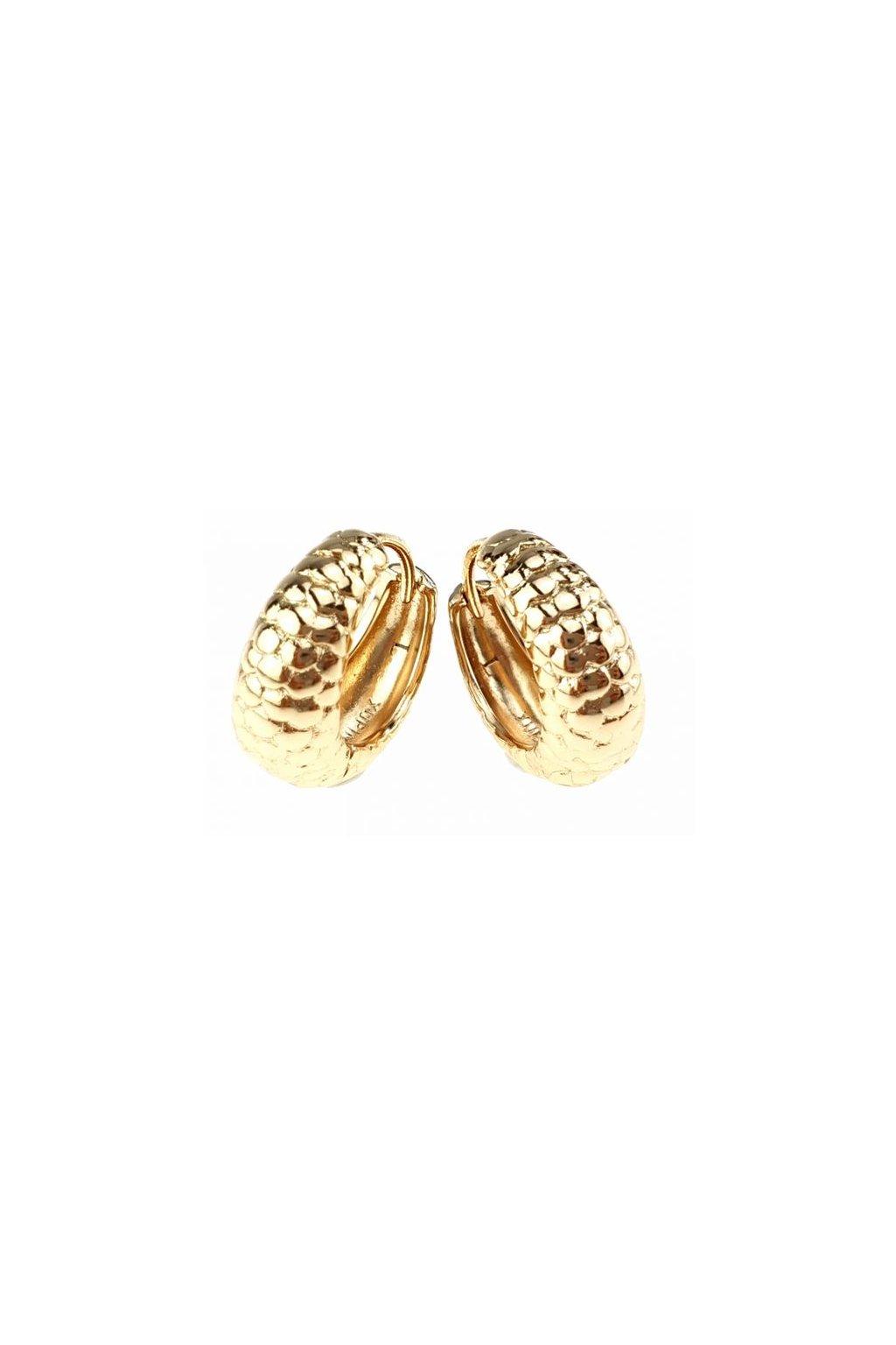Zlaté náušnice 1750