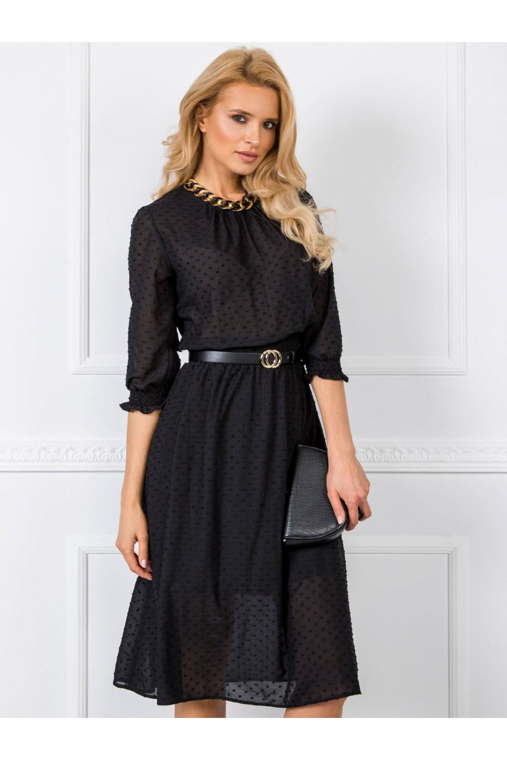 213442cc874b Elegantné šaty s čipkou 7090 biele - Tentation.sk