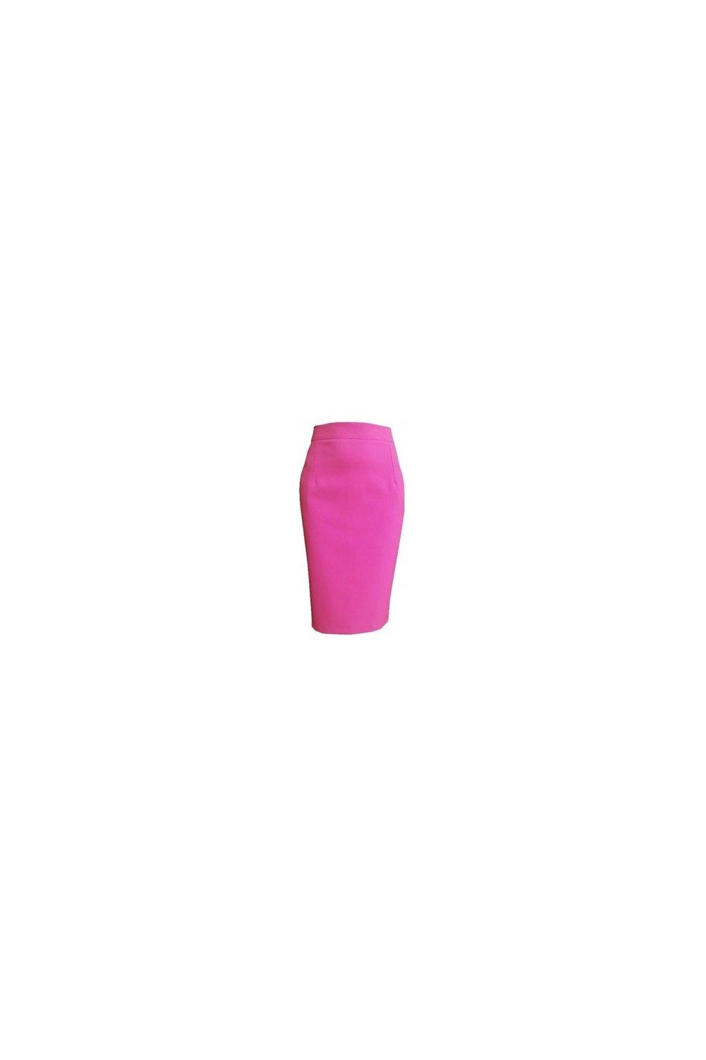 puzdrová sukňa ružová1