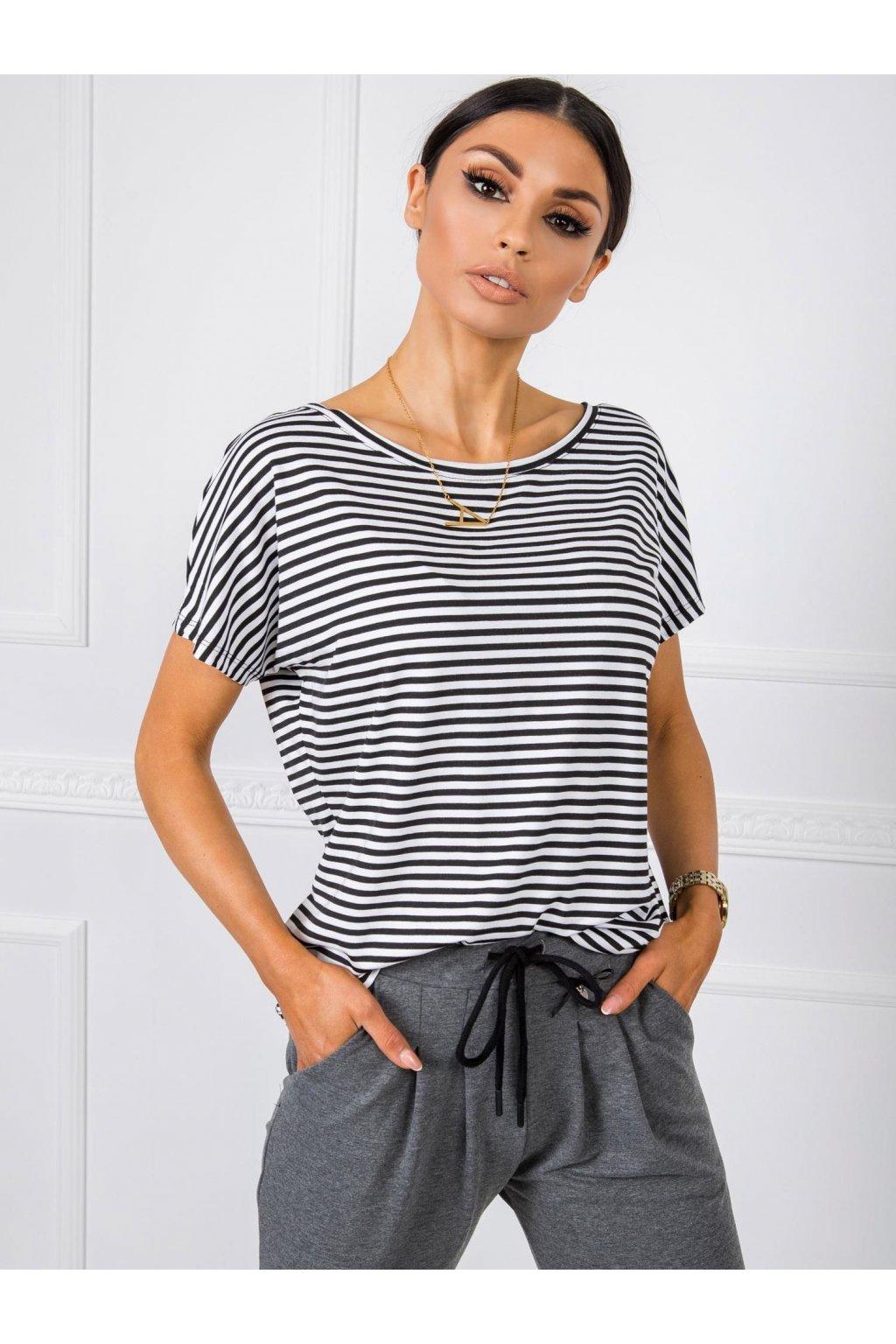 pol pl Bialo czarny t shirt Gina RUE PARIS 348050 1