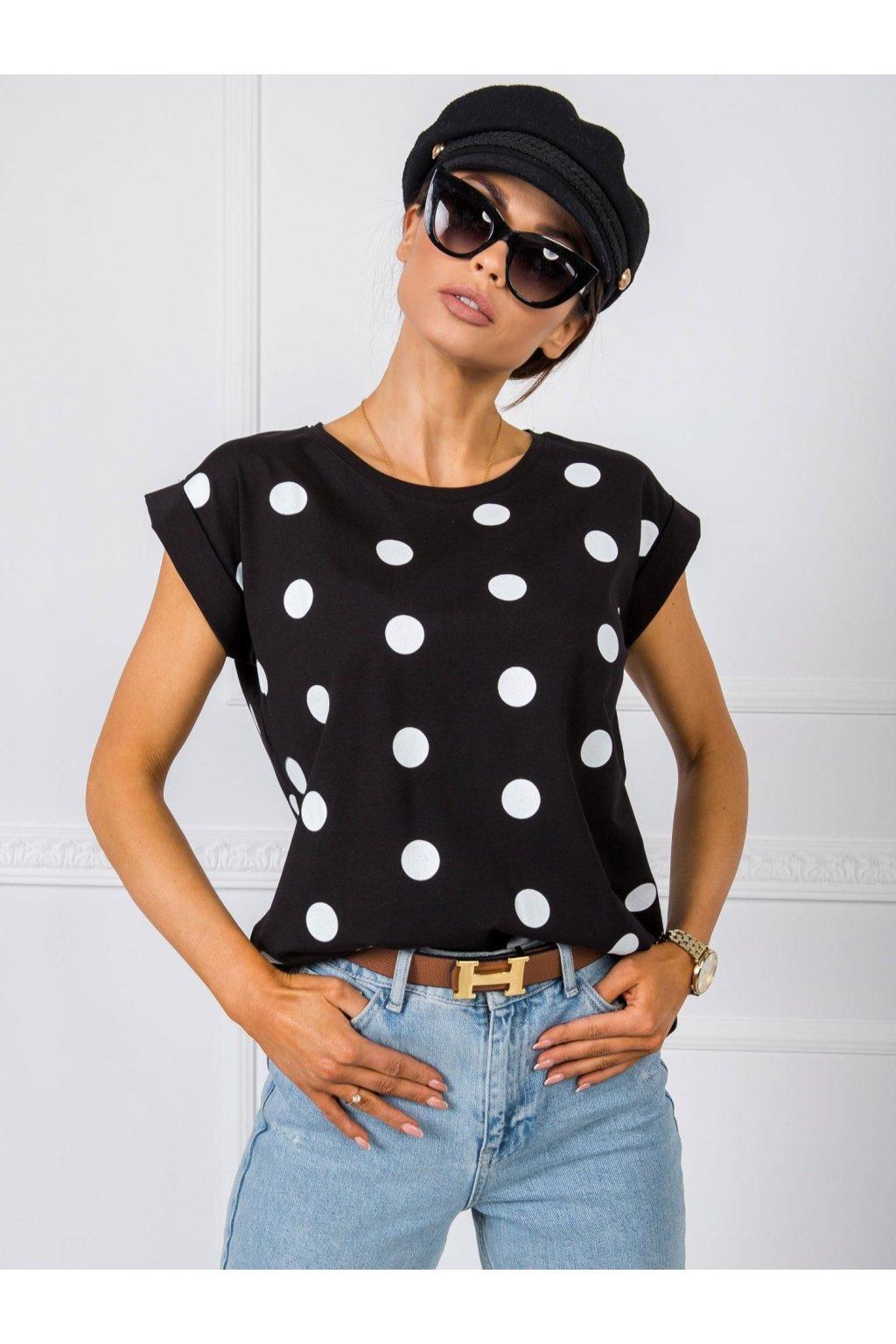 pol pl Czarny t shirt Catrina 347980 1