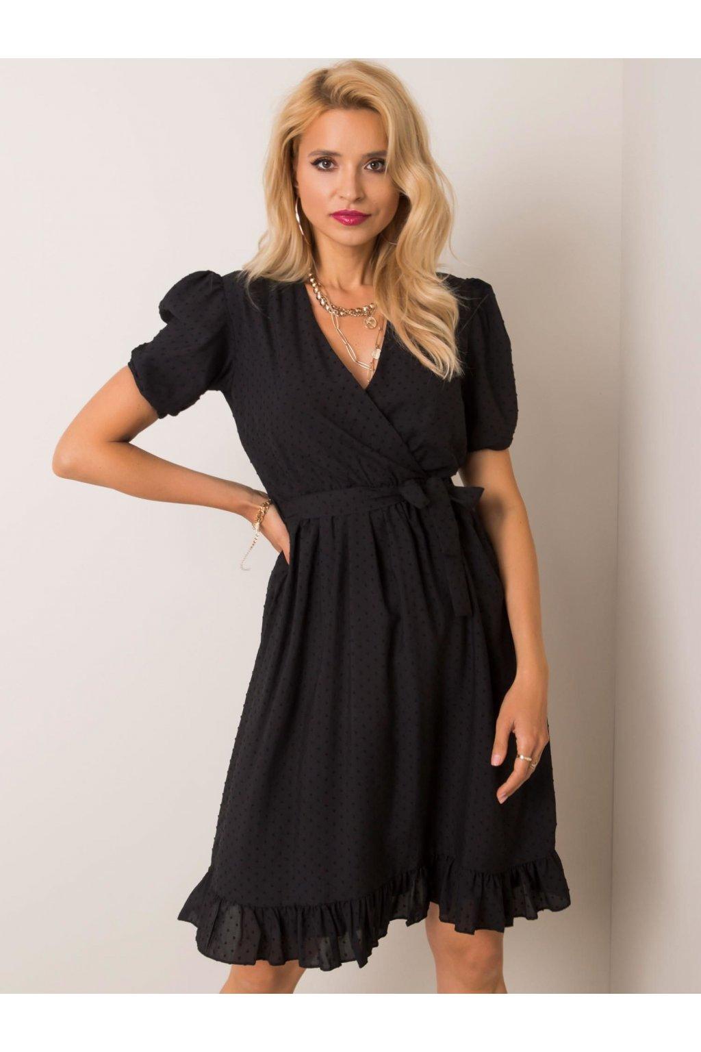 pol pl Czarna sukienka Colette RUE PARIS 352106 1