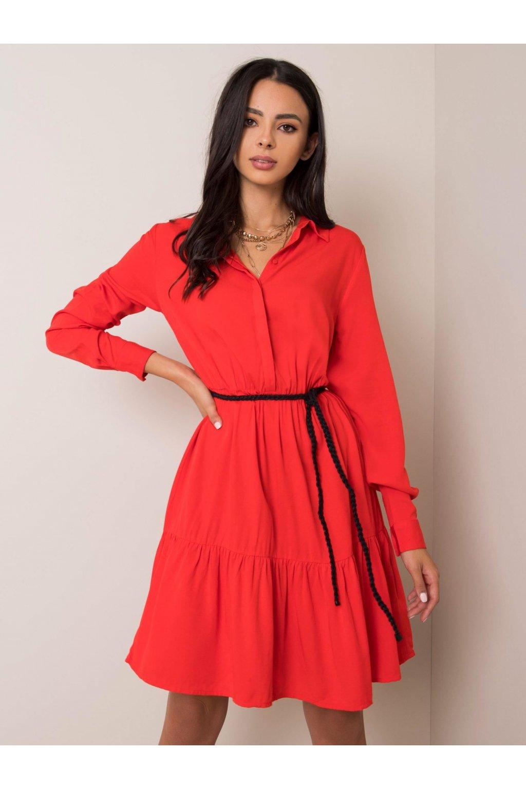 pol pl Jasnoczerwona sukienka Stelle FRESH MADE 353362 1