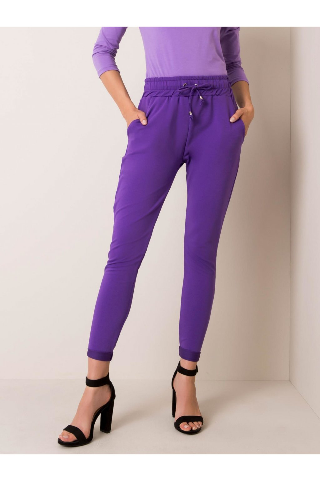 pol pl Fioletowe spodnie Cadence 351911 1