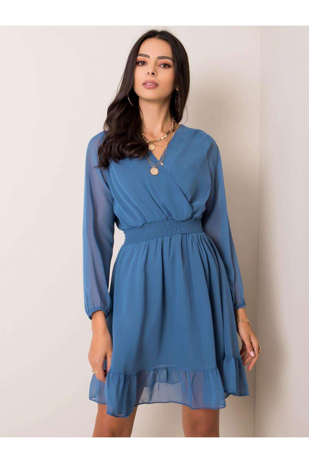pol pl Niebieska sukienka Giovana RUE PARIS 353280 1