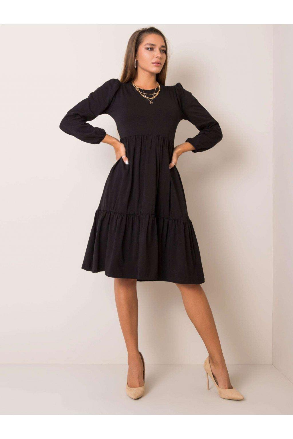pol pl Czarna sukienka Yonne RUE PARIS 354173 2