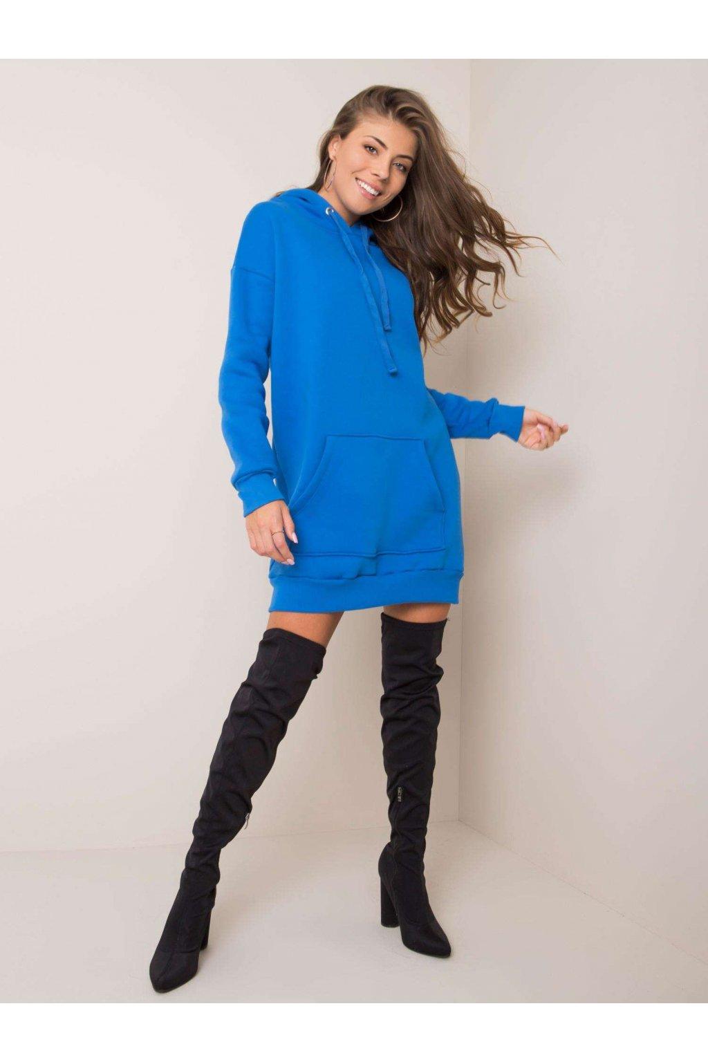 pol pl Ciemnoniebieska sukienka Vittoria RUE PARIS 354695 1 (1)